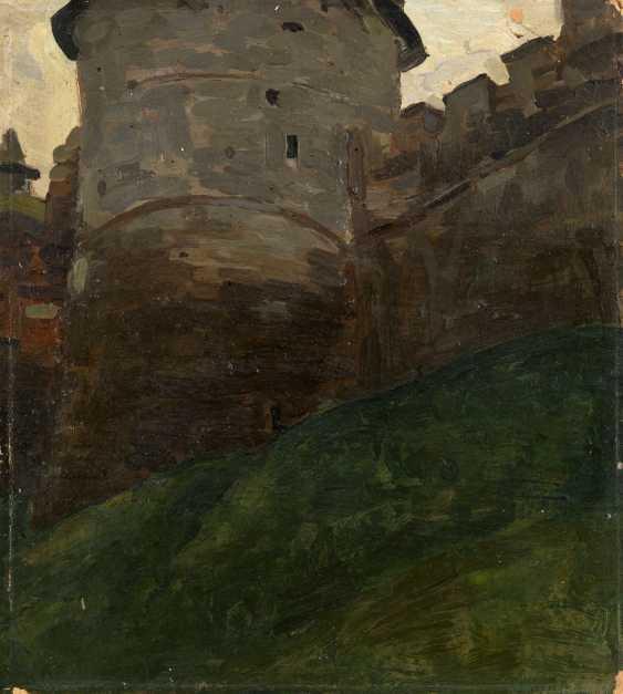 ROERICH, NICHOLAS (1874-1947) The Kremlin Tower of Novgorod  - photo 1