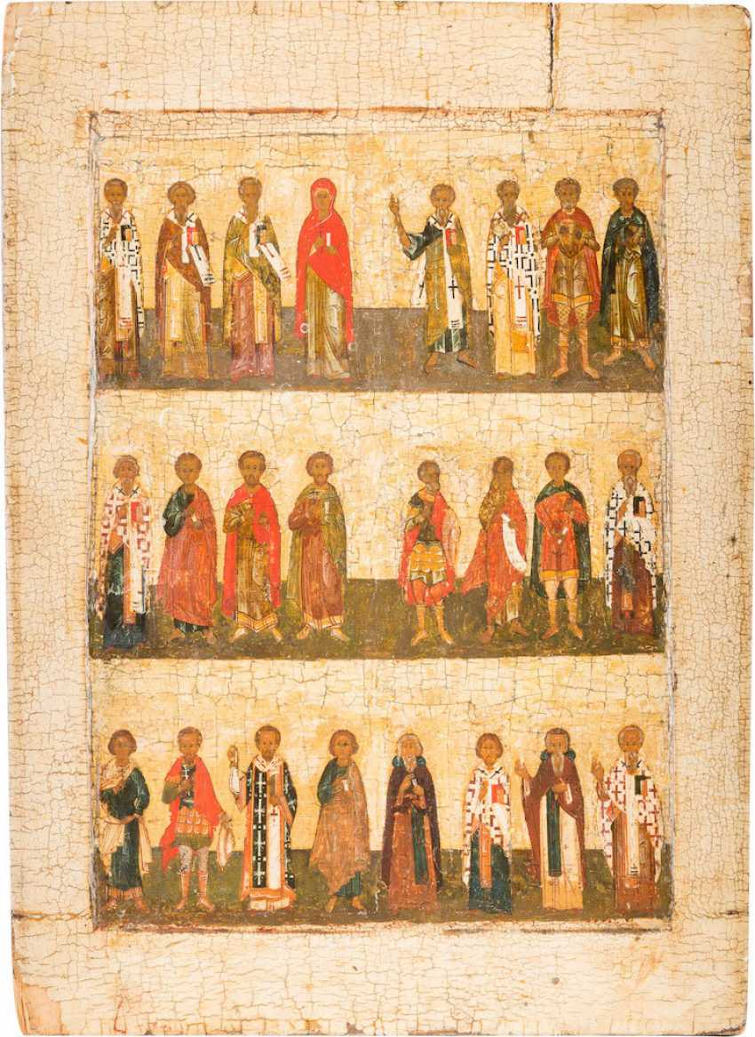 LARGE-FORMAT ICON WITH SELECTED SAINTS (MONTHLY ICON) - photo 1