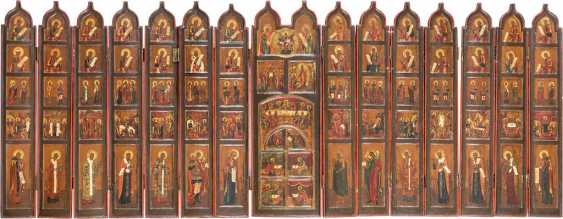FOLDING ICONOSTASIS (TRAVEL ICONOSTASIS) - photo 1