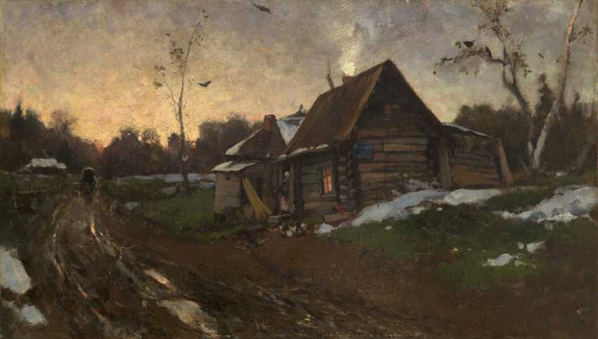 SVEDOMSKY, ALEKSANDER (1848-1911) Room at Mikhailovsky Zavod  - photo 1