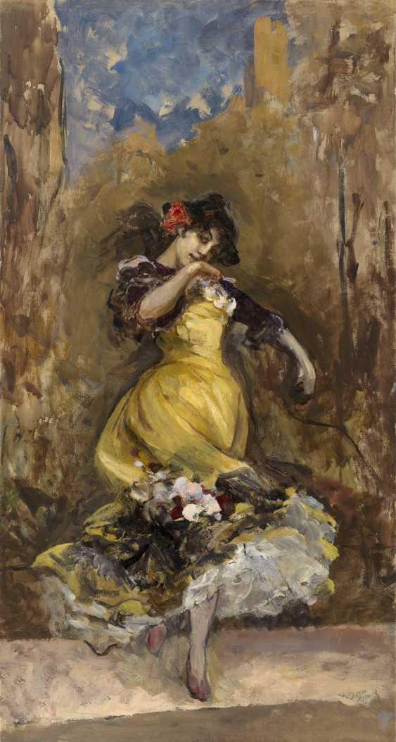 SVEDOMSKY, PAVEL (1849-1904) A Spanish Dancer  - photo 1