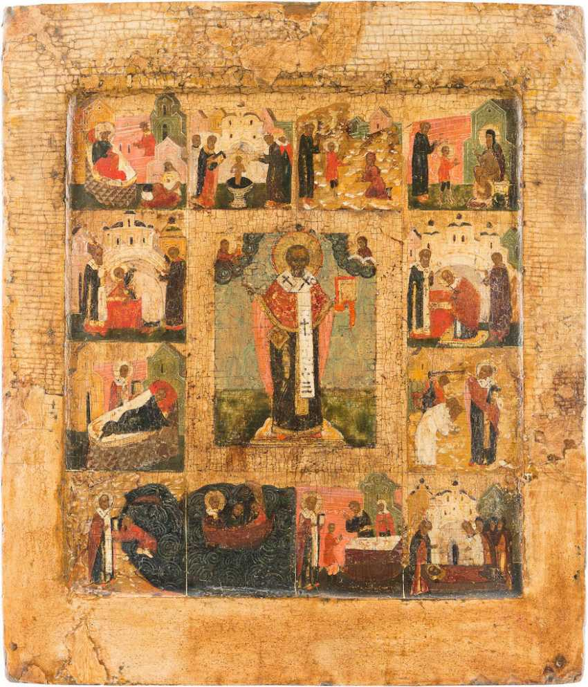 VITA ICON OF ST. NICHOLAS OF MYRA - photo 1