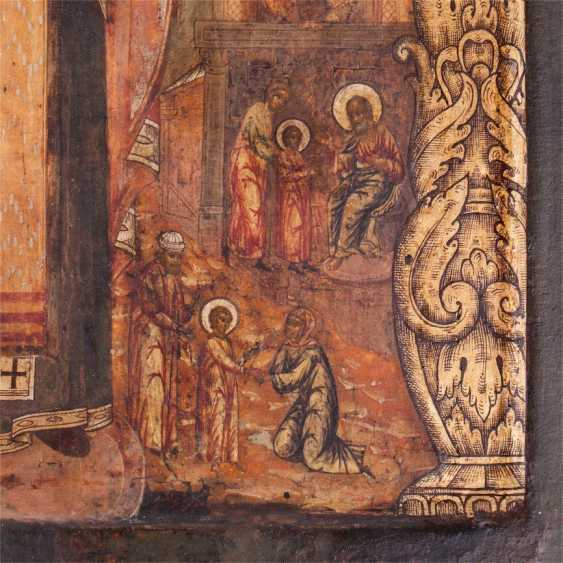 A rare icon of Saint Nicholas the Wonderworker of Myra - photo 4