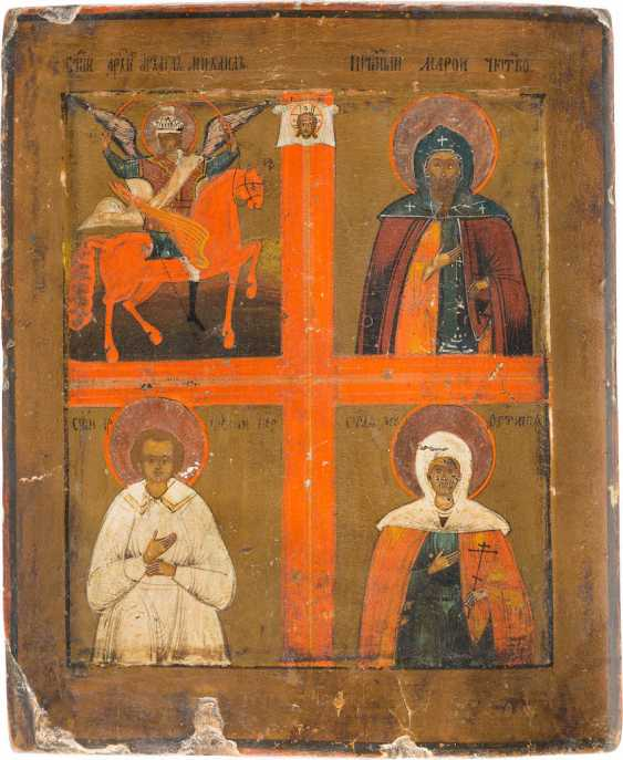 FOUR FIELDS ICON WITH SELECTED SAINTS - photo 1
