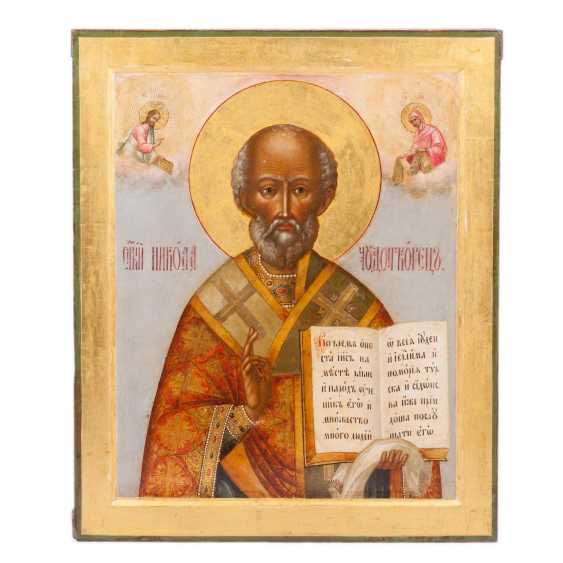 Icon Of St. Nicholas The Wonderworker - photo 1