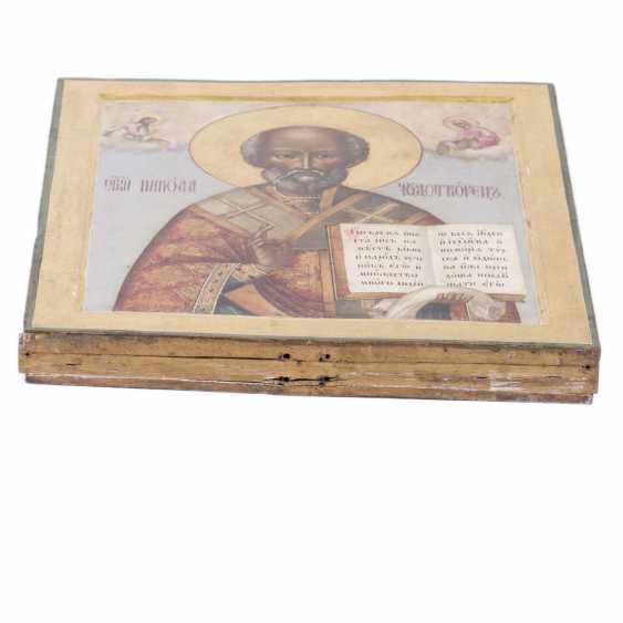 Icon Of St. Nicholas The Wonderworker - photo 3