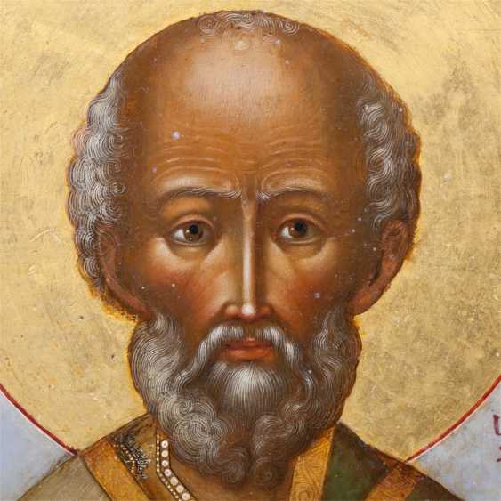 Icon Of St. Nicholas The Wonderworker - photo 4