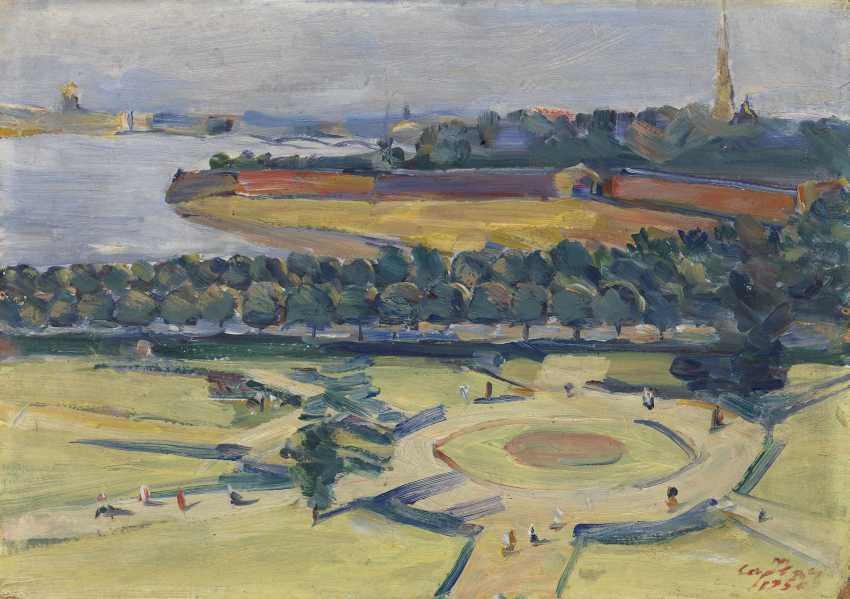 SARYAN, MARTIROS (1880-1972) Leningrad. A Study , signed and dated 1956, also further signed, titled in Cyrillic and dated on the reverse. - photo 1