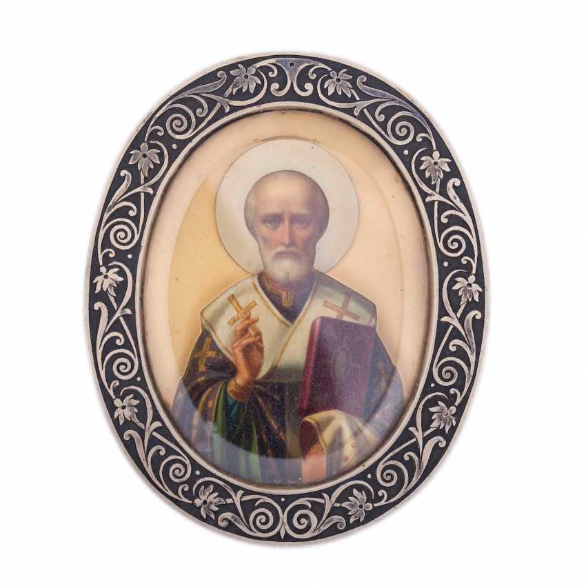 Icon-a small icon of St. Nicholas the Wonderworker