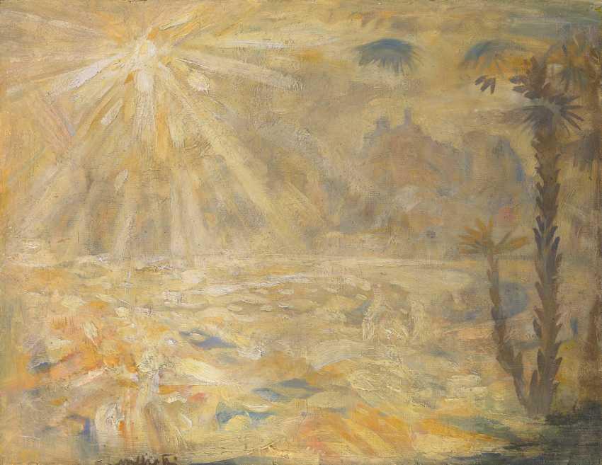MILIOTI, NIKOLAI (1874-1962) Sunshine Paradise , signed. - photo 1