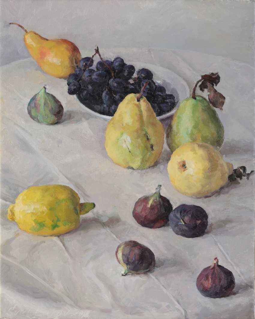 SVETLAKOV, SERGEI (B. 1961) Still Life with Fruit , signed and dated 2016. - photo 1