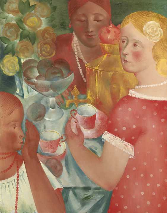 SANDYREV, IVAN (1932-2002) Teatime , signed and titled in Cyrillic on the reverse. - photo 1