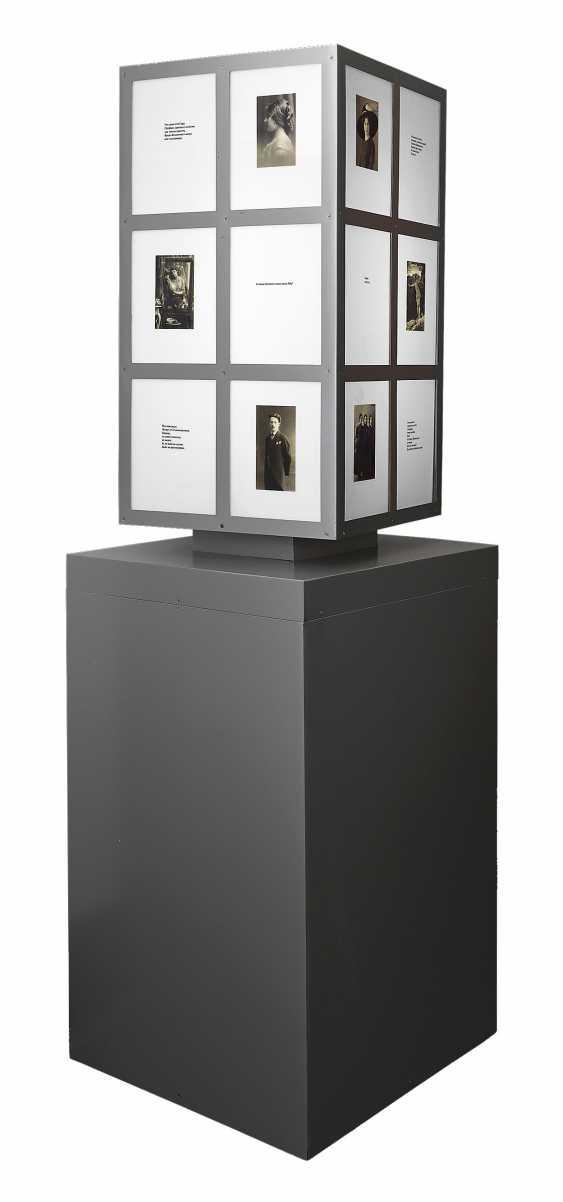BRUSKIN, GRISHA (B. 1945) Mentally Yours , lightbox installation. - photo 1