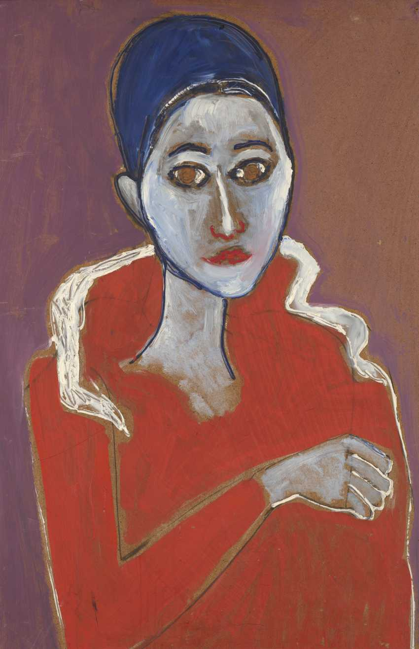 GLICKMAN, GAVRIIL (1913-2003) Portrait of a Woman  - photo 1