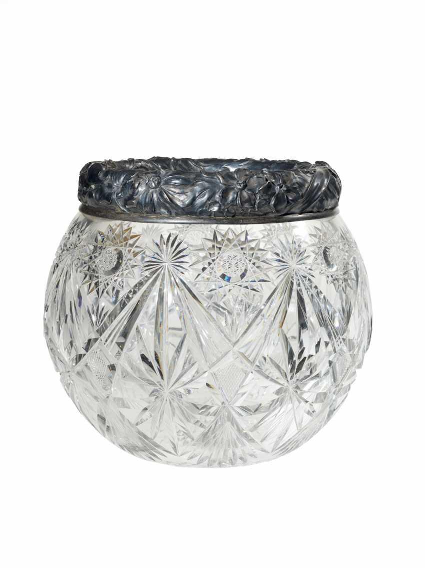 An Impressive Cut-Glass Vase    - photo 1