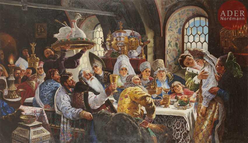 Karl Bogdanovich WENIG (1830-1908) [Studio] - photo 1