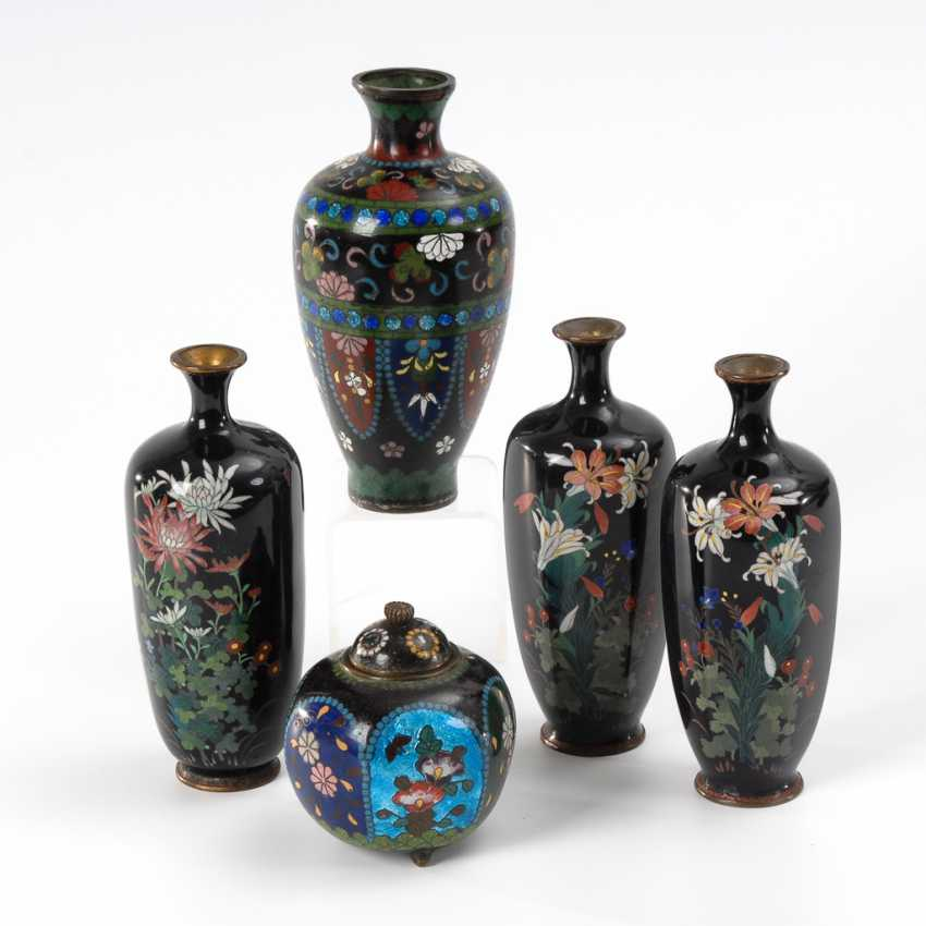 Collection Of Ornamental Vases Lot 501
