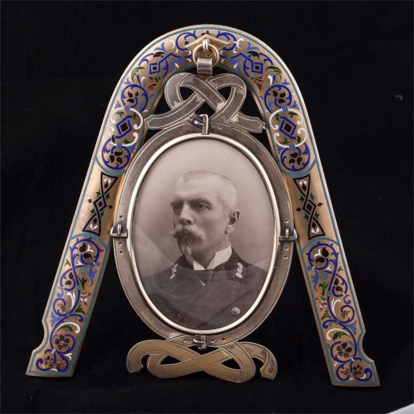 Unusual frame in the