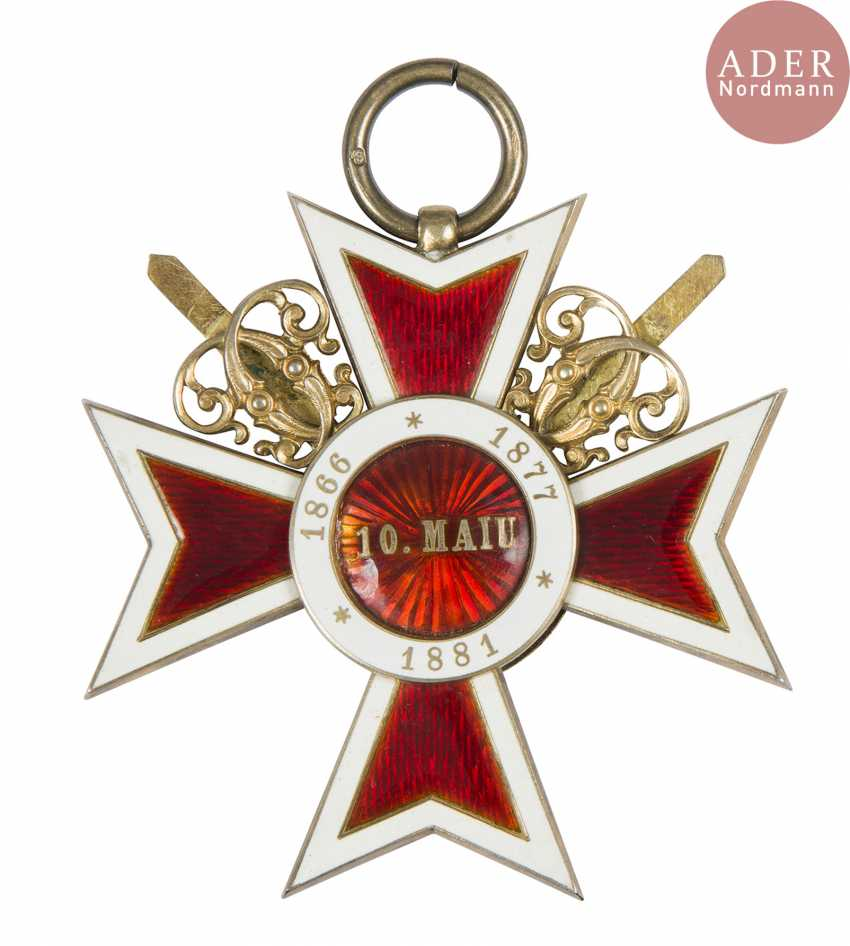 Romania. Order of the Crown (created in 1881 1 type). - photo 2