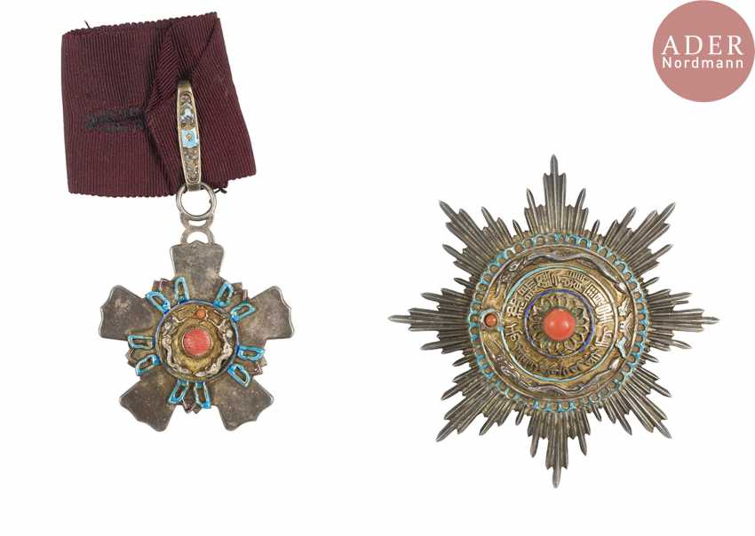 China. Order of the Double Dragon (created in 1881, model 1900-1911). - photo 1