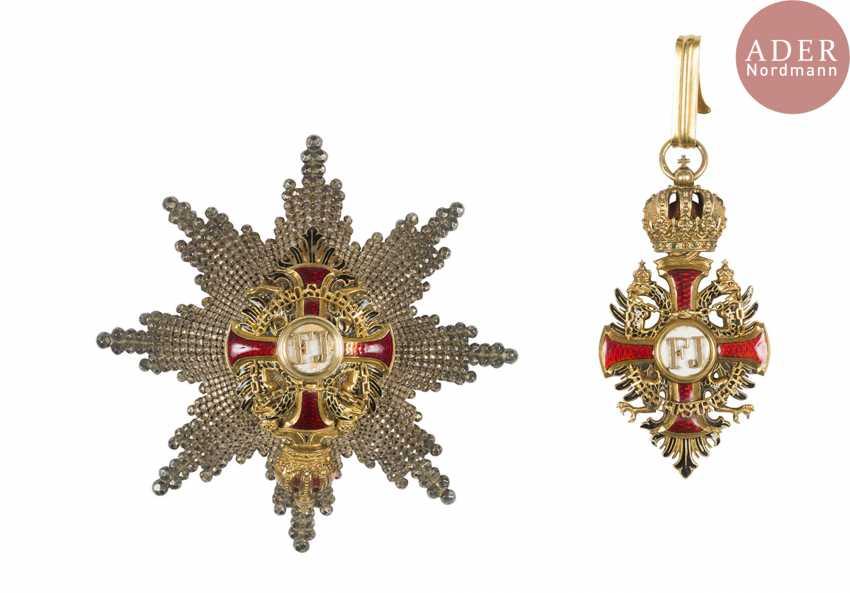 Austria. Order of Francis Joseph (established in 1849). - photo 1