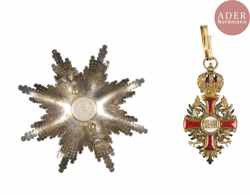 Austria. Order of Francis Joseph (established in 1849). - photo 2