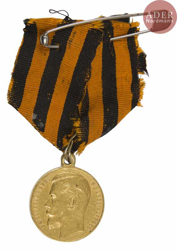 Medal of St. George in gold, 2nd class. - photo 1