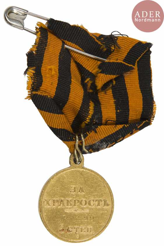 Medal of St. George in gold, 2nd class. - photo 2