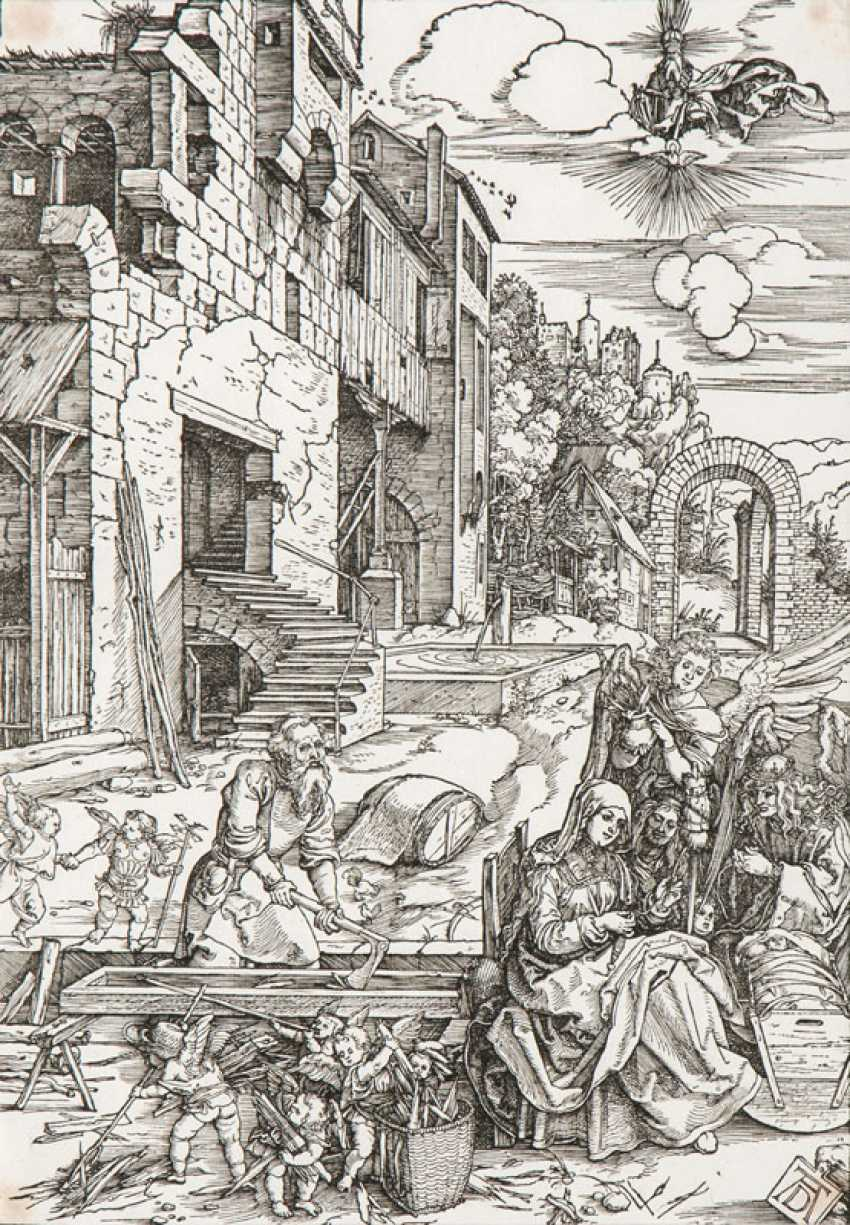 """Albrecht Dürer, """"stay in Egypt"""" - photo 1"""