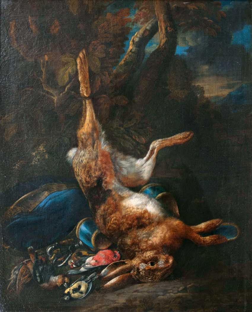 "Bernaert de Bridt ""hunting still life with hare and birds"" - photo 1"
