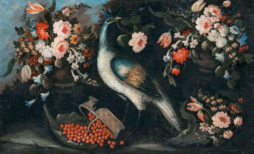 "Russian champion ""peacock with flowers and fruit"" - photo 1"