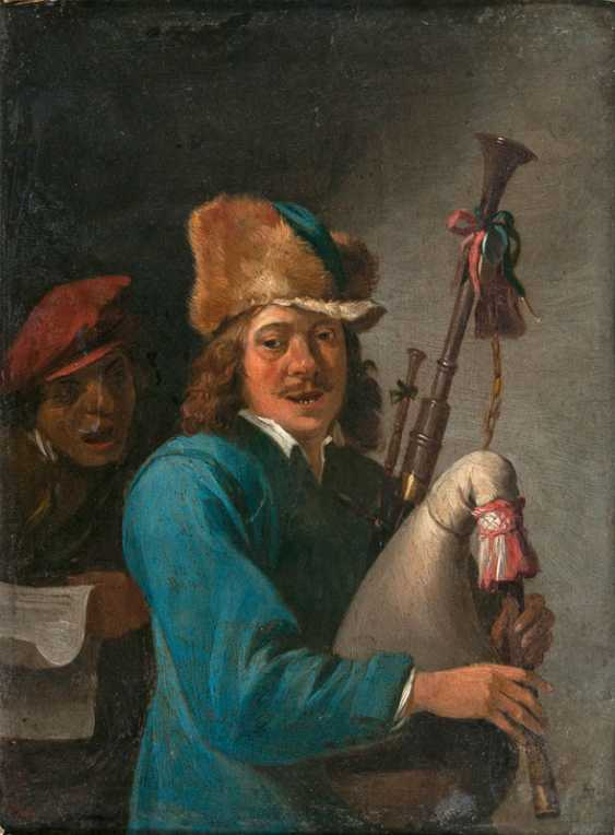 """David Teniers the younger """"bagpipe player"""" - photo 1"""
