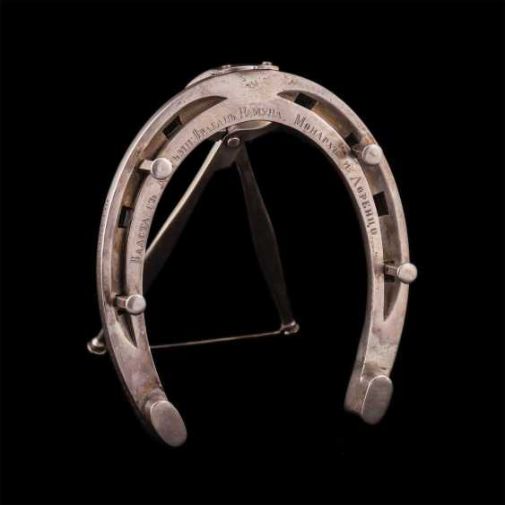A rare prize in the form of a horseshoe