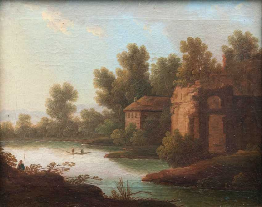 "Johann Christoph von Bemmel ""building on the river"" - photo 1"