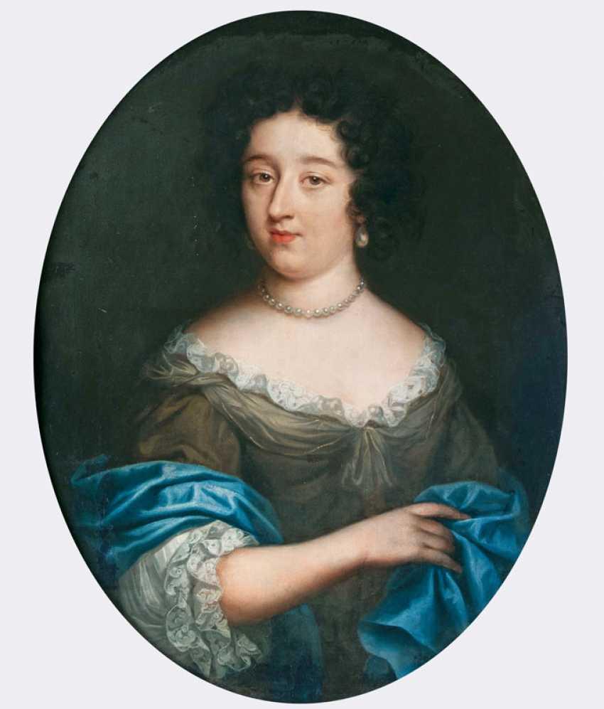 "Portrait painter ""Portrait of a lady with pearl necklace"" - photo 1"