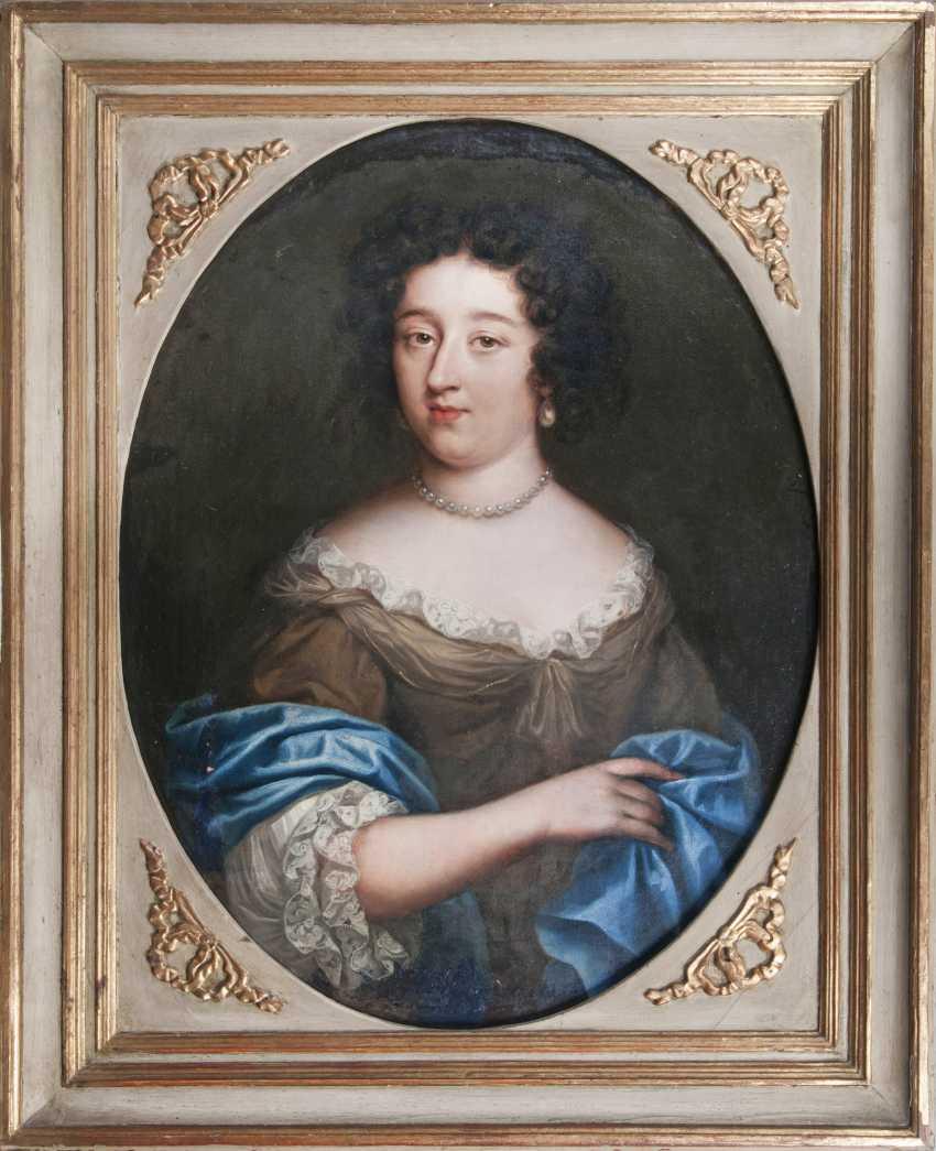 "Portrait painter ""Portrait of a lady with pearl necklace"" - photo 2"