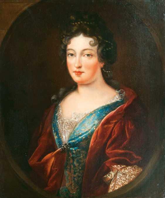 "Portraitmaler ""Portrait einer Dame, between traditionell identifiziert als Françoise-Marie de Bourbon"" - photo 1"