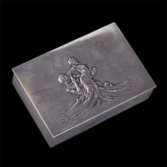 "Cigar box art Nouveau ""Neptune and Amphitrite"" - photo 1"
