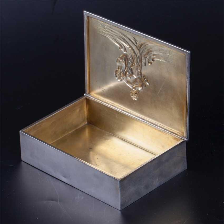 "Cigar box art Nouveau ""Neptune and Amphitrite"" - photo 4"