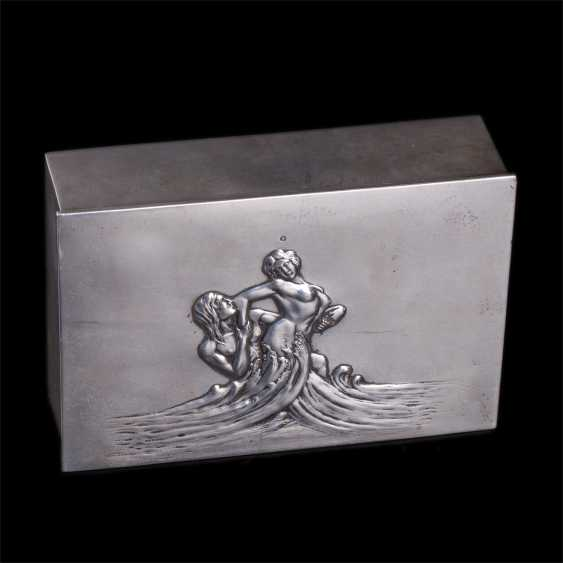 "Cigar box art Nouveau ""Neptune and Amphitrite"" - photo 2"