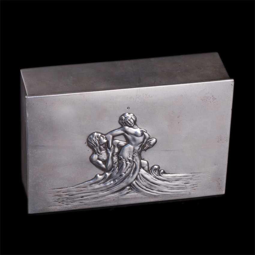"Cigar box art Nouveau ""Neptune and Amphitrite"" - photo 2"