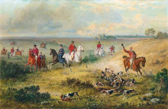"Emil Adam ""Duke of Nassau's hunting in Lippspringe"" - photo 1"