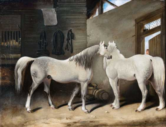 "John Frederick Herring ""are Two of mould in the stable"" - photo 1"