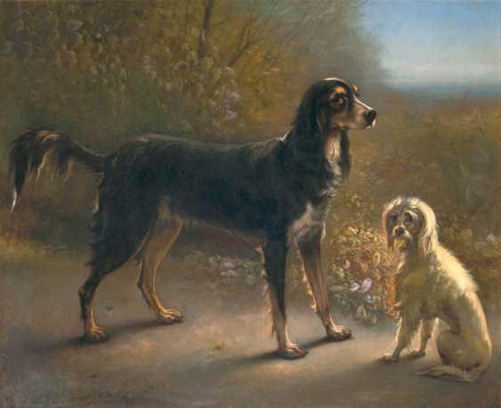 "Emmanuel Noterman ""Two Dogs"" - photo 1"