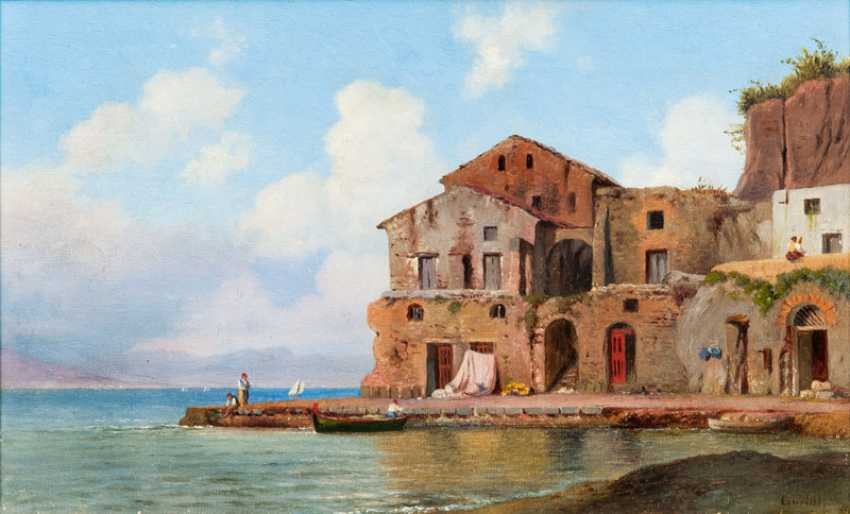 "Louis Gurlitt ""On the coast of Italy"" - photo 1"