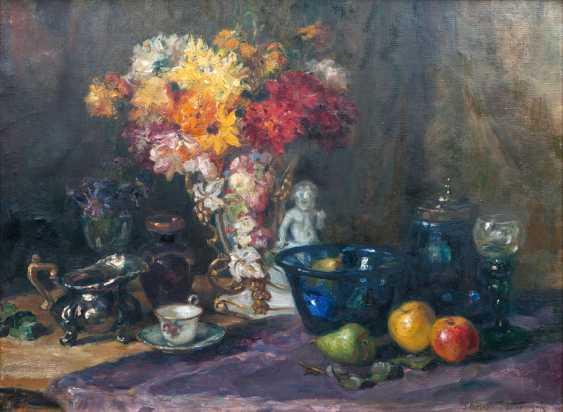 """Luma von Flesch-Brun by """"still-life with bouquet of flowers"""" - photo 1"""