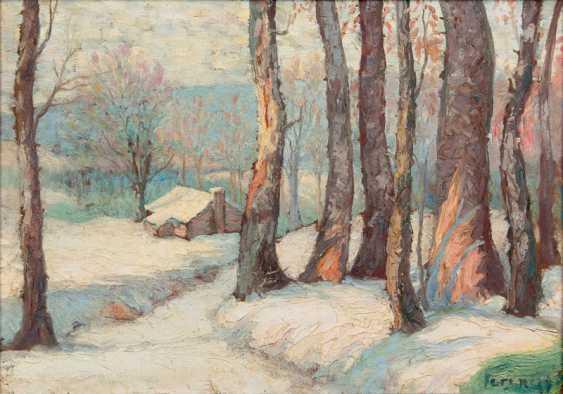 """Károly Ferenczy """"Winterwald"""" - photo 1"""