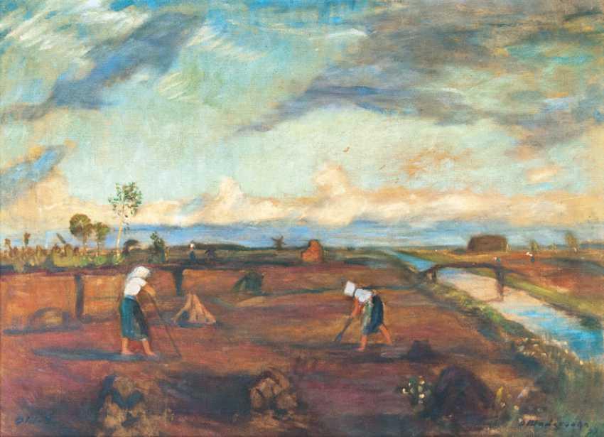 Otto Modersohn ''Im Moor'' - photo 1