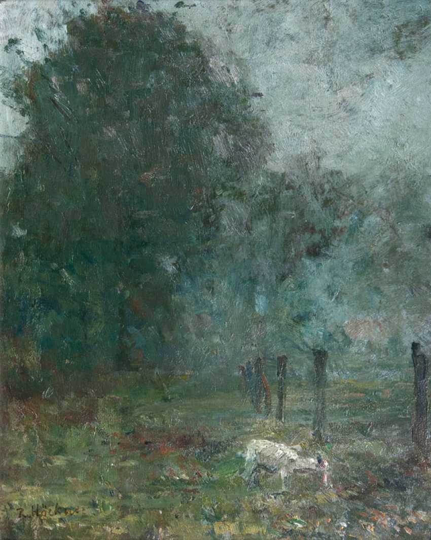 "Rudolf höckner has ""evening mood with a goat"" - photo 1"