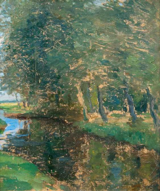 """Thomas Herbst, """"the river at the edge of the forest"""" - photo 1"""